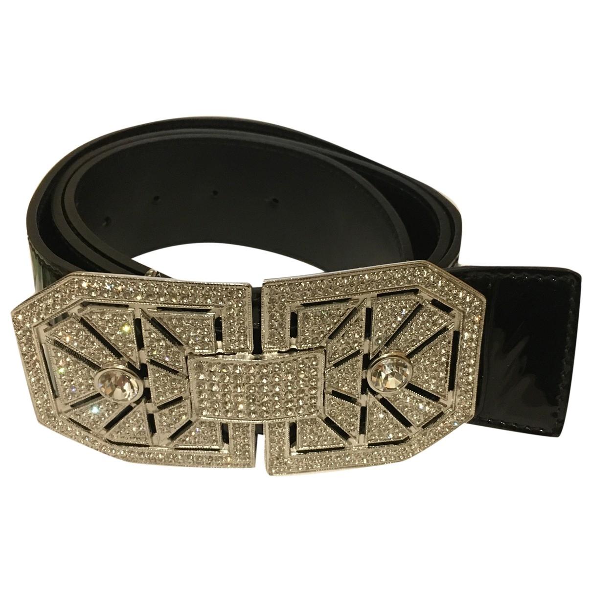 Valentino Garavani \N Black Leather belt for Women 95 cm