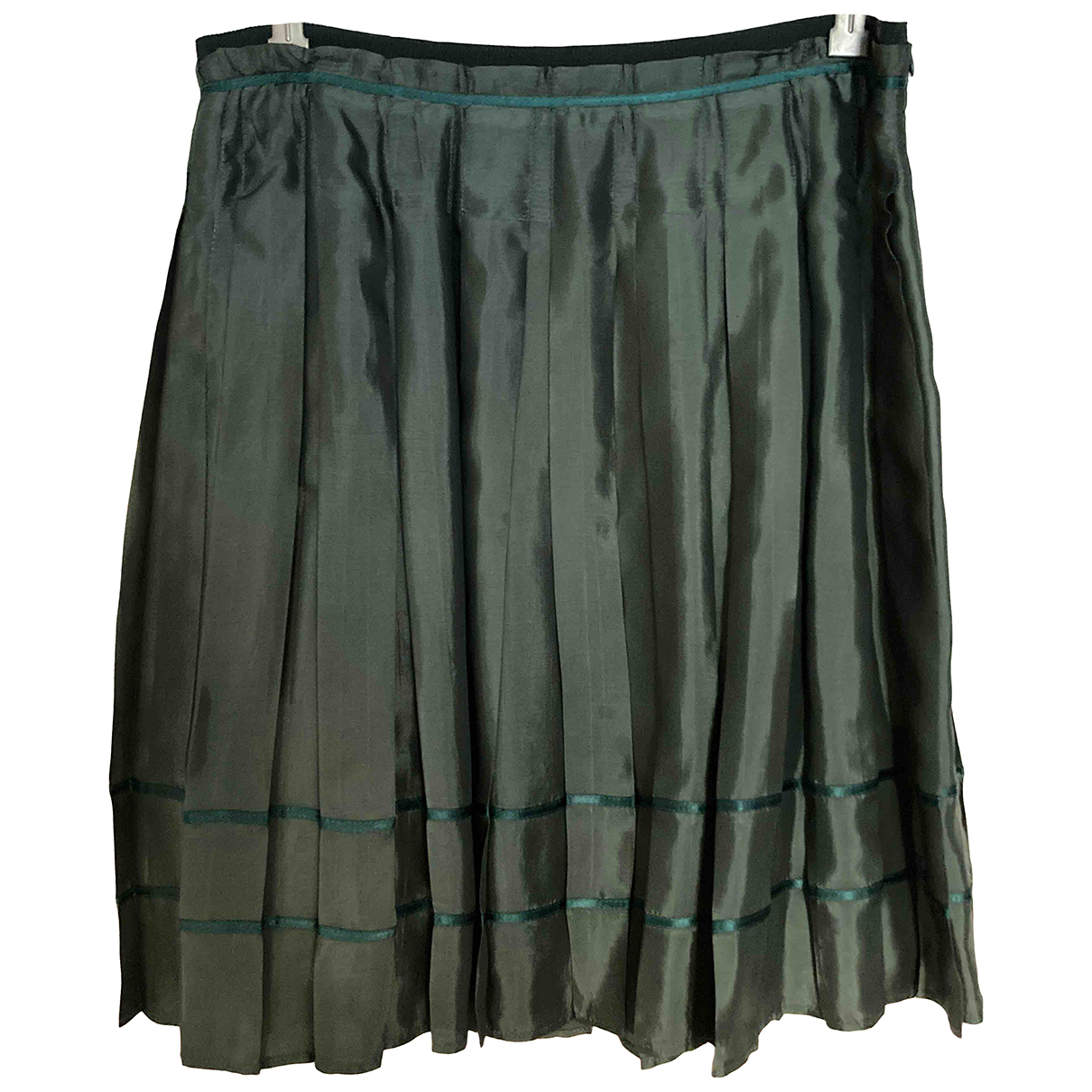 See By Chloé \N Green Silk skirt for Women 42 IT