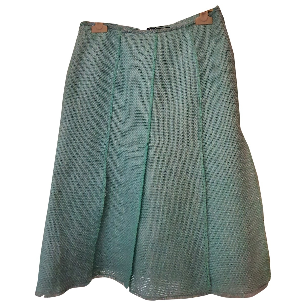 Balmain \N Blue skirt for Women 38 FR