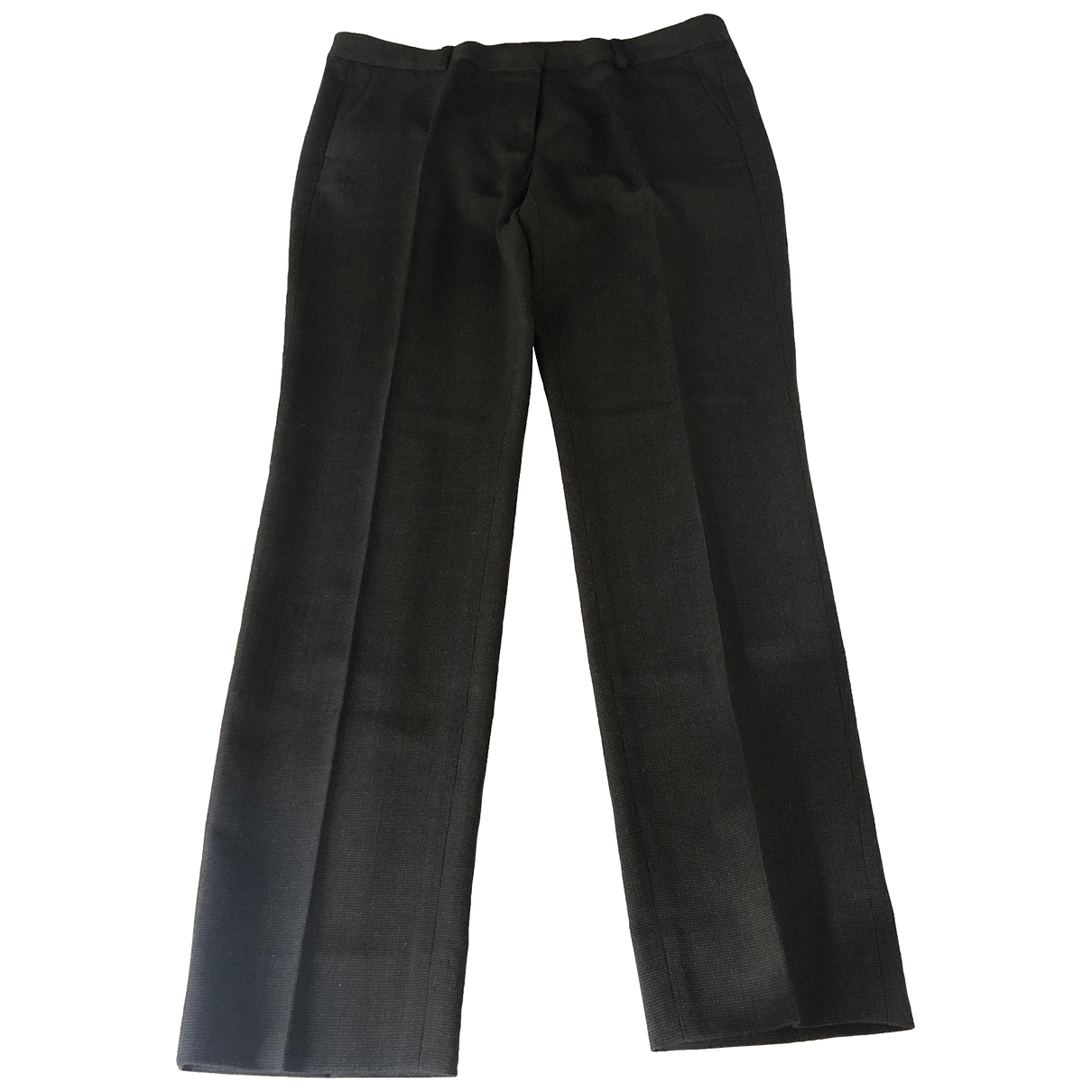 Mauro Grifoni \N Anthracite Trousers for Women 44 IT