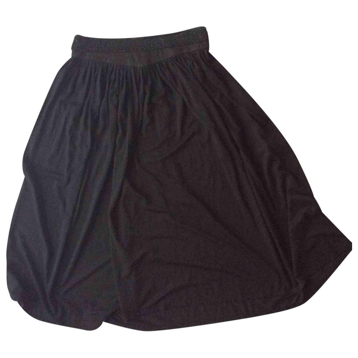 Vanessa Bruno \N Black Wool skirt for Women 38 FR