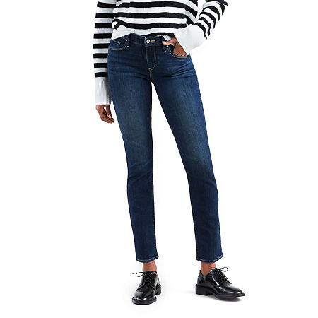 Levi's Classic Mid Rise Skinny Jean, 4 , Blue