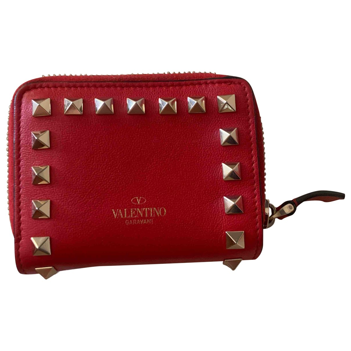 Valentino Garavani \N Red Leather Purses, wallet & cases for Women \N