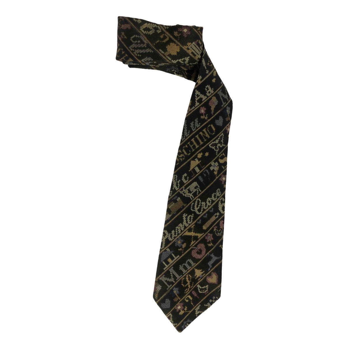 Moschino \N Silk Ties for Men \N