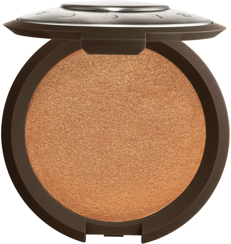 Shimmering Skin Perfector Pressed Highlighter - Chocolate Geode (rich chocolate brown w/ gold pearl)
