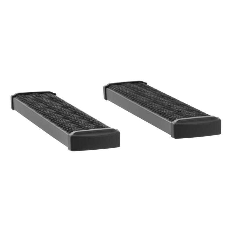 Luverne 415036-400341 Textured Black Powder Coat Aluminum Grip Step 7