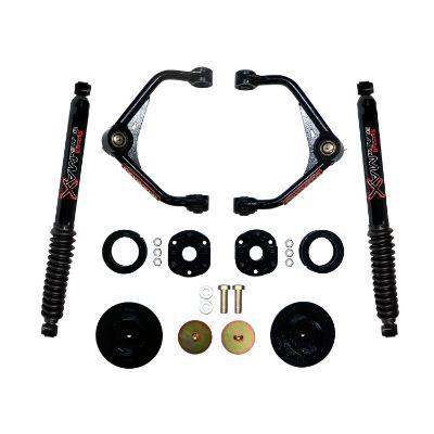 Skyjacker 3 Inch Upper Control Arm Lift Kit with Black Max Rear Shocks - R1230PB
