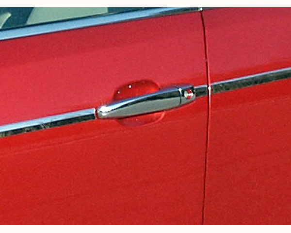 Quality Automotive Accessories ABS | Chrome Door Handle Cover Kit Cadillac STS 2008