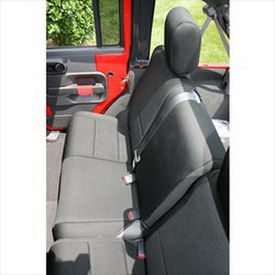 Rugged Ridge Neoprene Rear Seat Cover (Black) - 13264.01