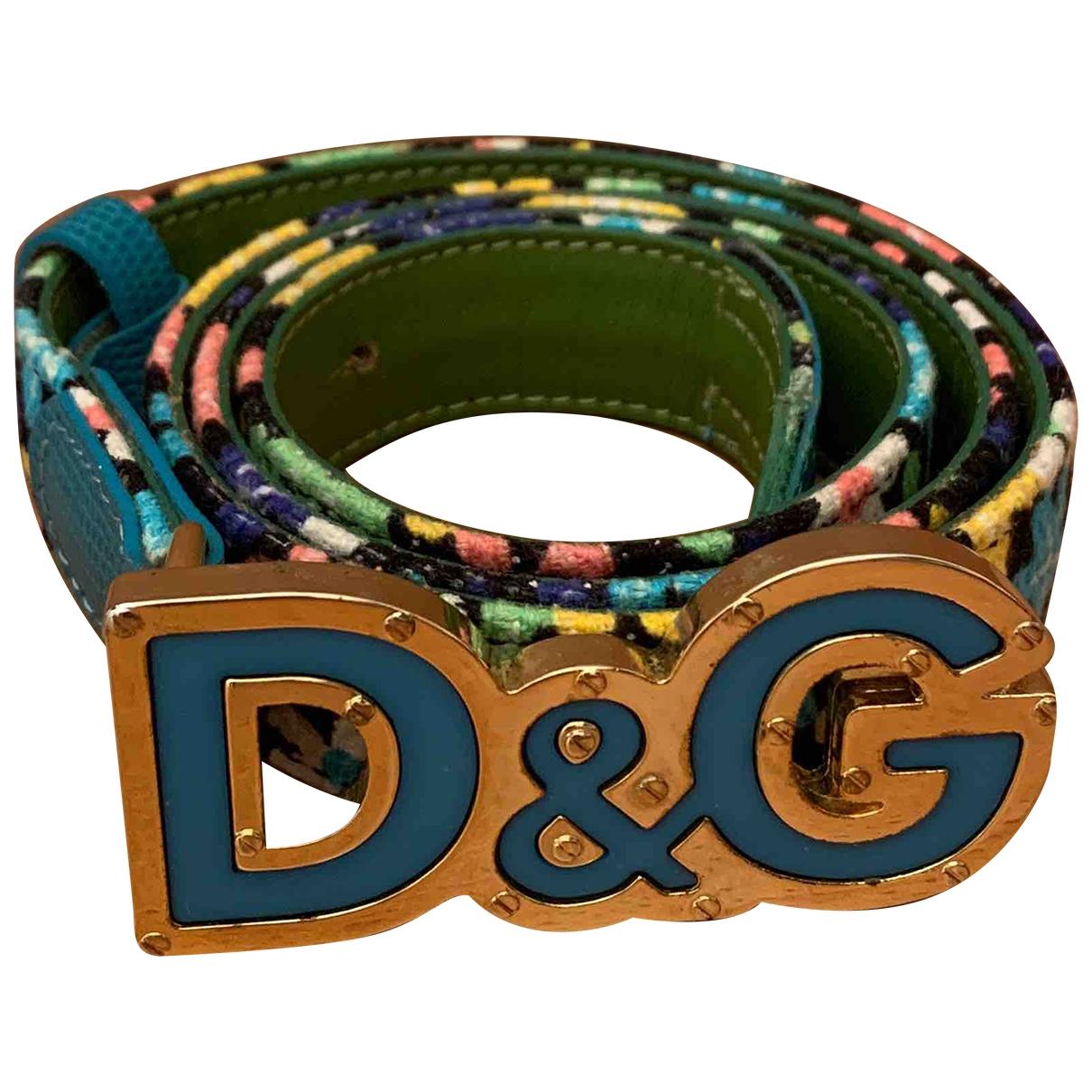 D&g \N Multicolour Cotton belt for Women 85 cm