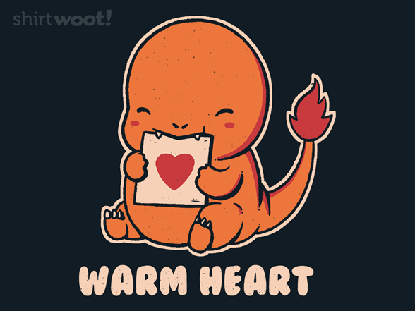 Warm Heart T Shirt