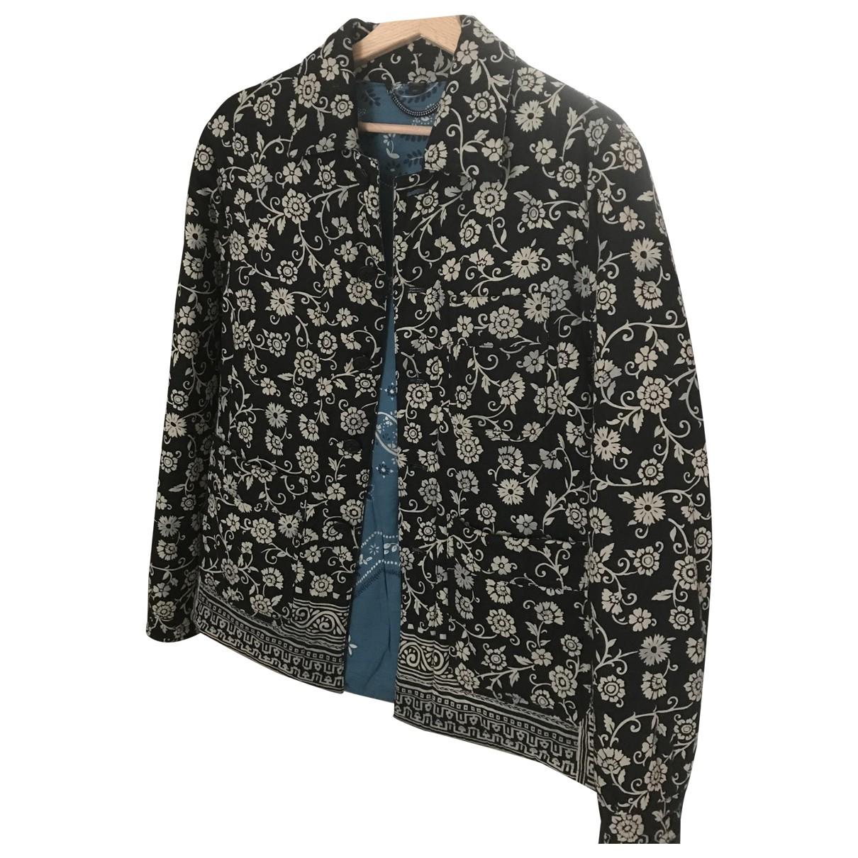 Burberry \N Black Cotton jacket  for Men 48 IT