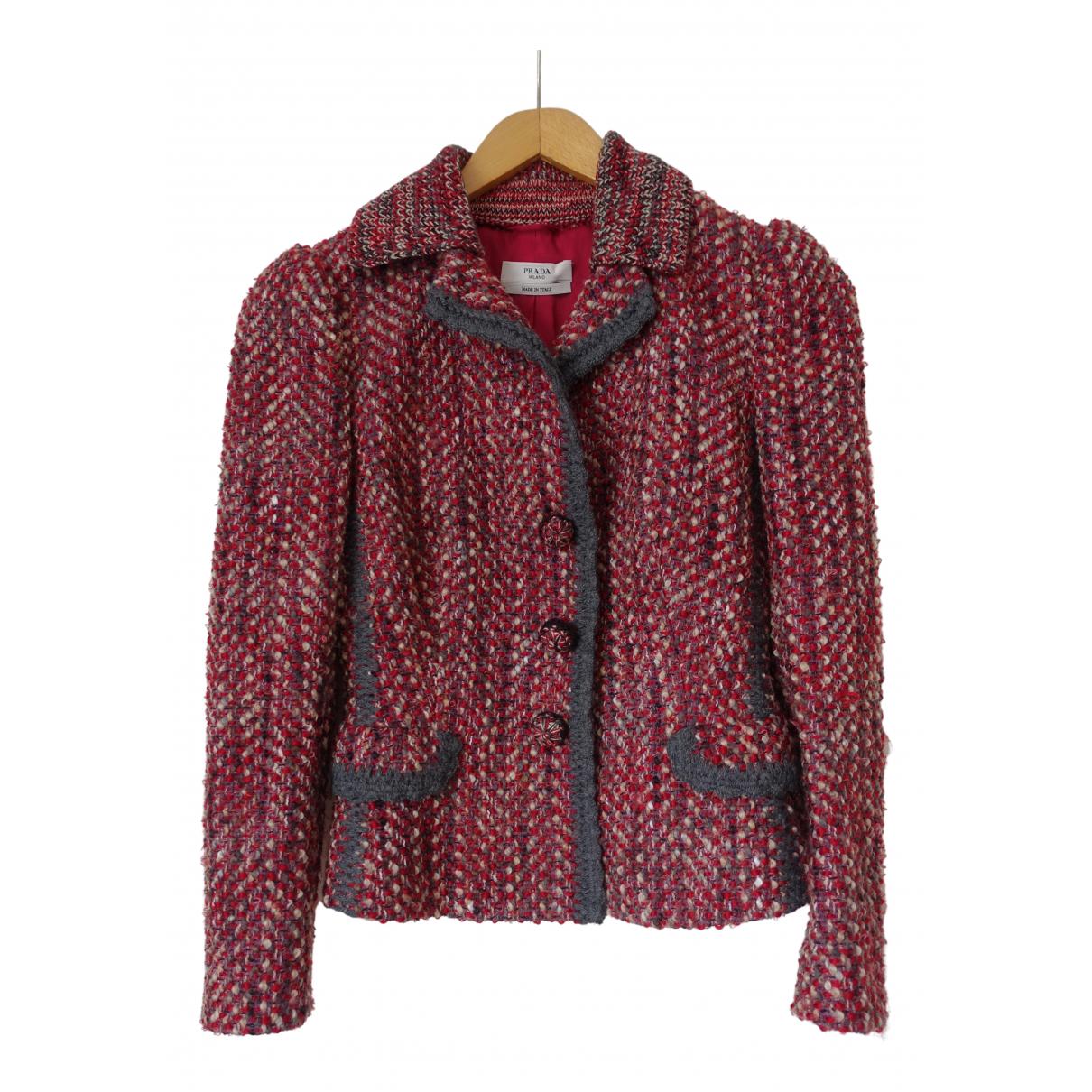 Prada \N Multicolour Wool jacket for Women 40 IT