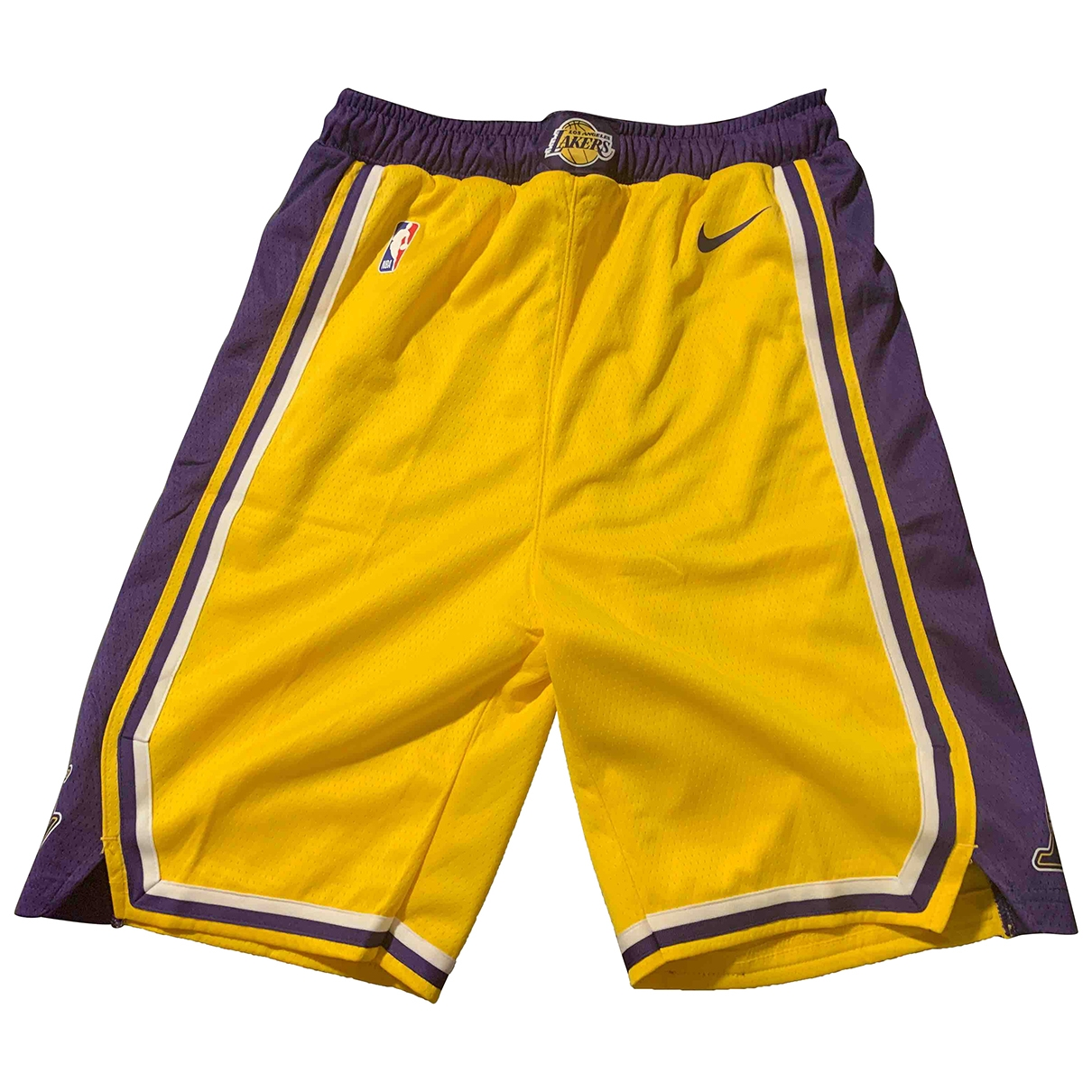 Nike \N Shorts in  Gelb Polyester
