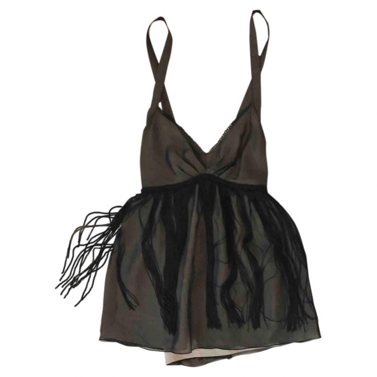 D&g \N Black  top for Women 40 IT