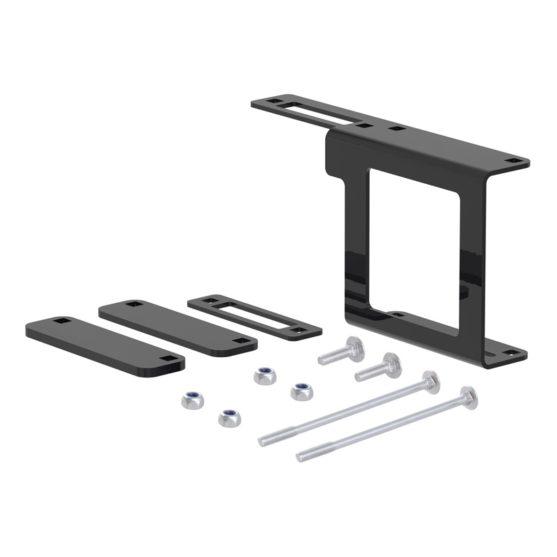 Curt 58001 Easy-Mount Bracket for 4 or 5-Way Flat (2