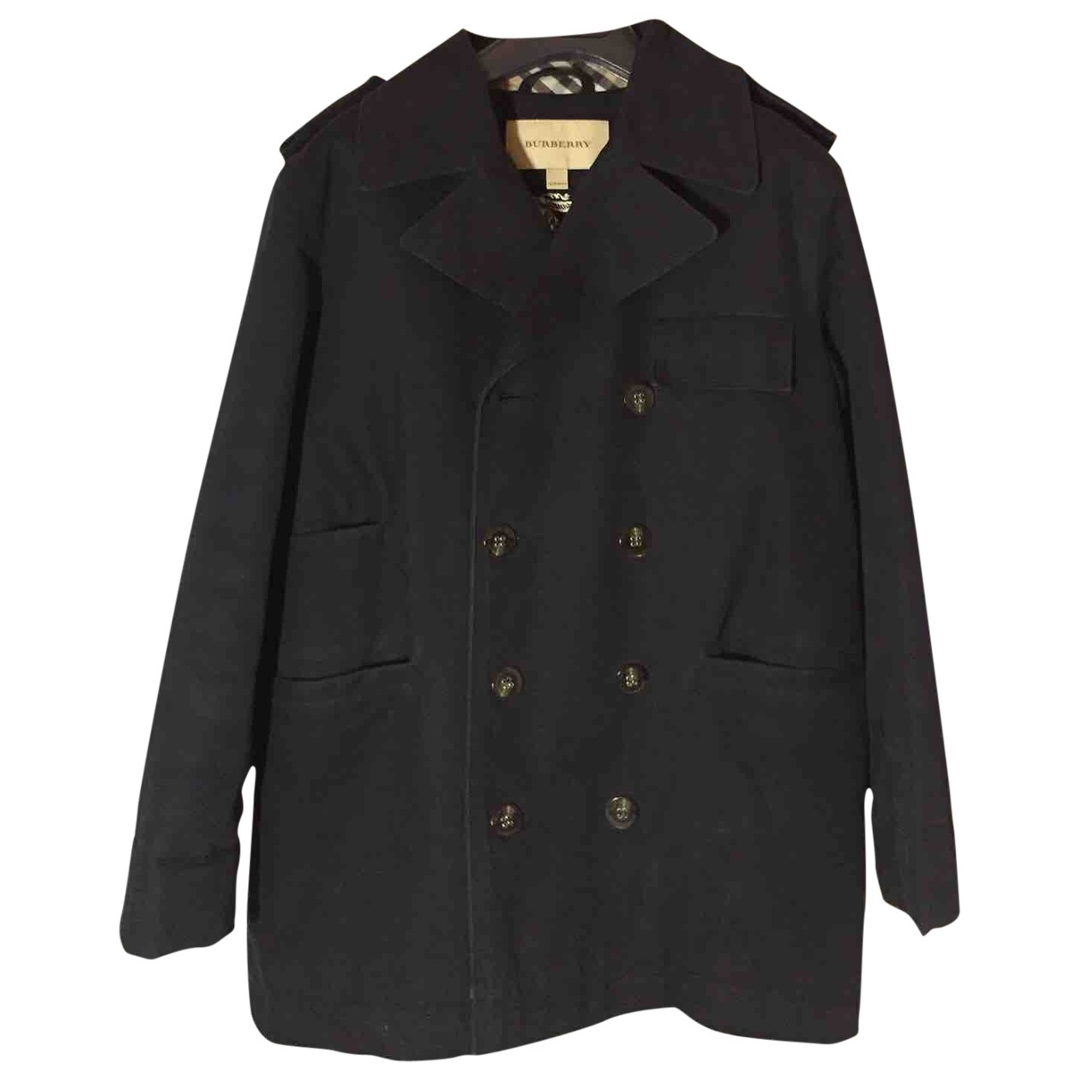 Burberry \N Blue Cotton jacket & coat for Kids 10 years - up to 142cm FR