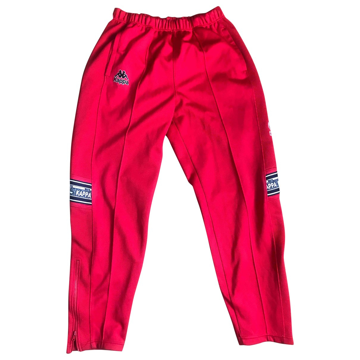 Kappa \N Red Trousers for Men 30 UK - US