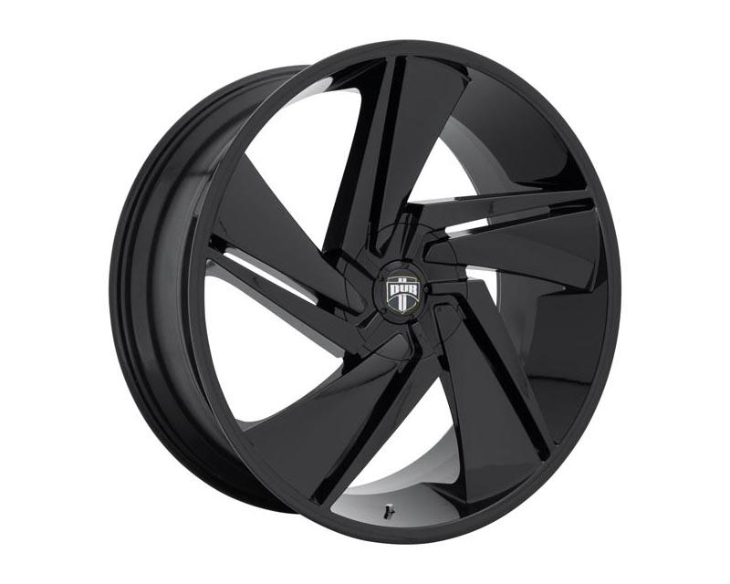 DUB S247 Fade Wheel 24x10 BLANK 33mm Gloss Black