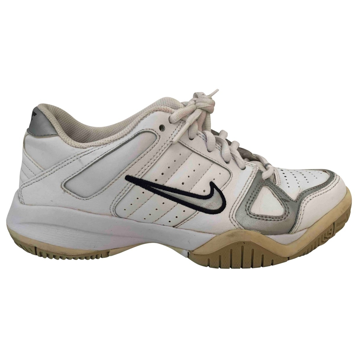 Nike \N White Leather Trainers for Women 38 EU