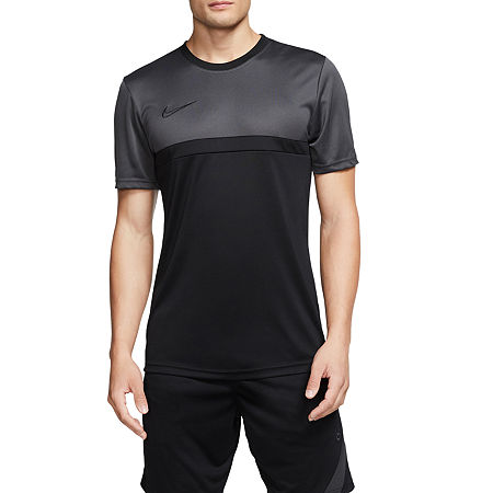 Nike Mens Crew Neck Short Sleeve T-Shirt, Large , Black