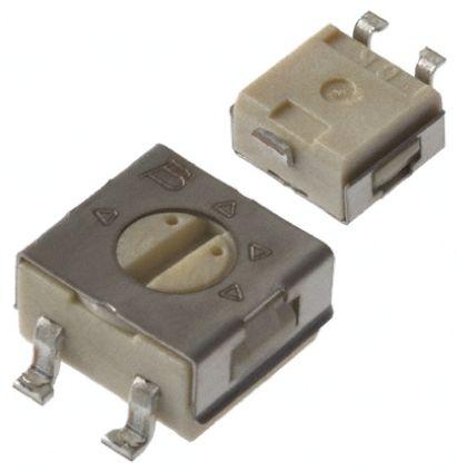 Bourns 50Ω, SMD Trimmer Potentiometer 0.25W Top Adjust , 3314 (10)