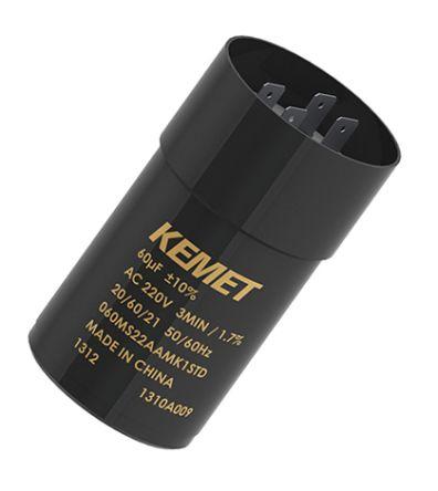 KEMET 30μF Electrolytic Capacitor 220V ac, Snap-In - 030MS22AAMA1STD