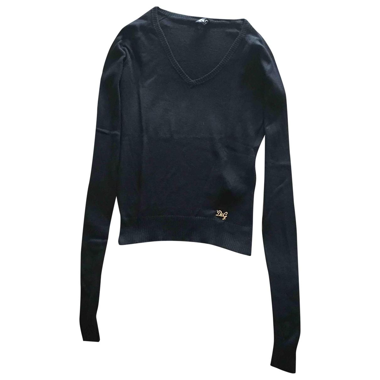D&g \N Black Silk Knitwear for Women XS International
