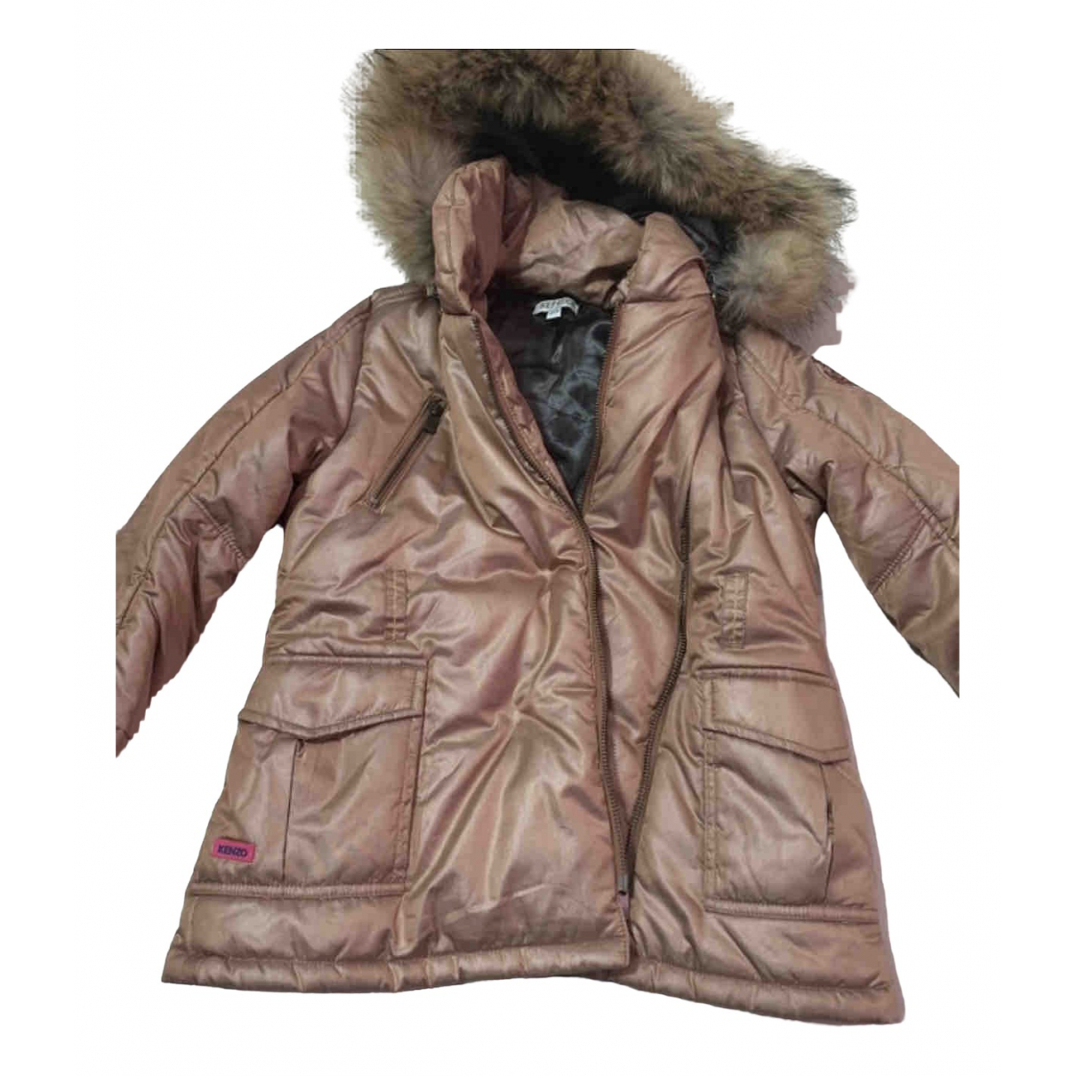 Kenzo \N Brown Cotton jacket & coat for Kids 6 years - up to 114cm FR