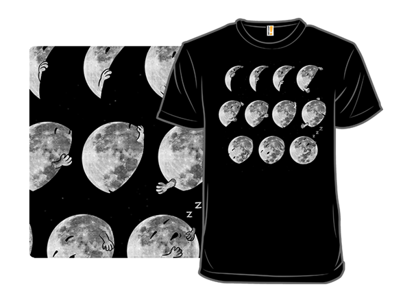 Lunar Phases Of Sleep T Shirt