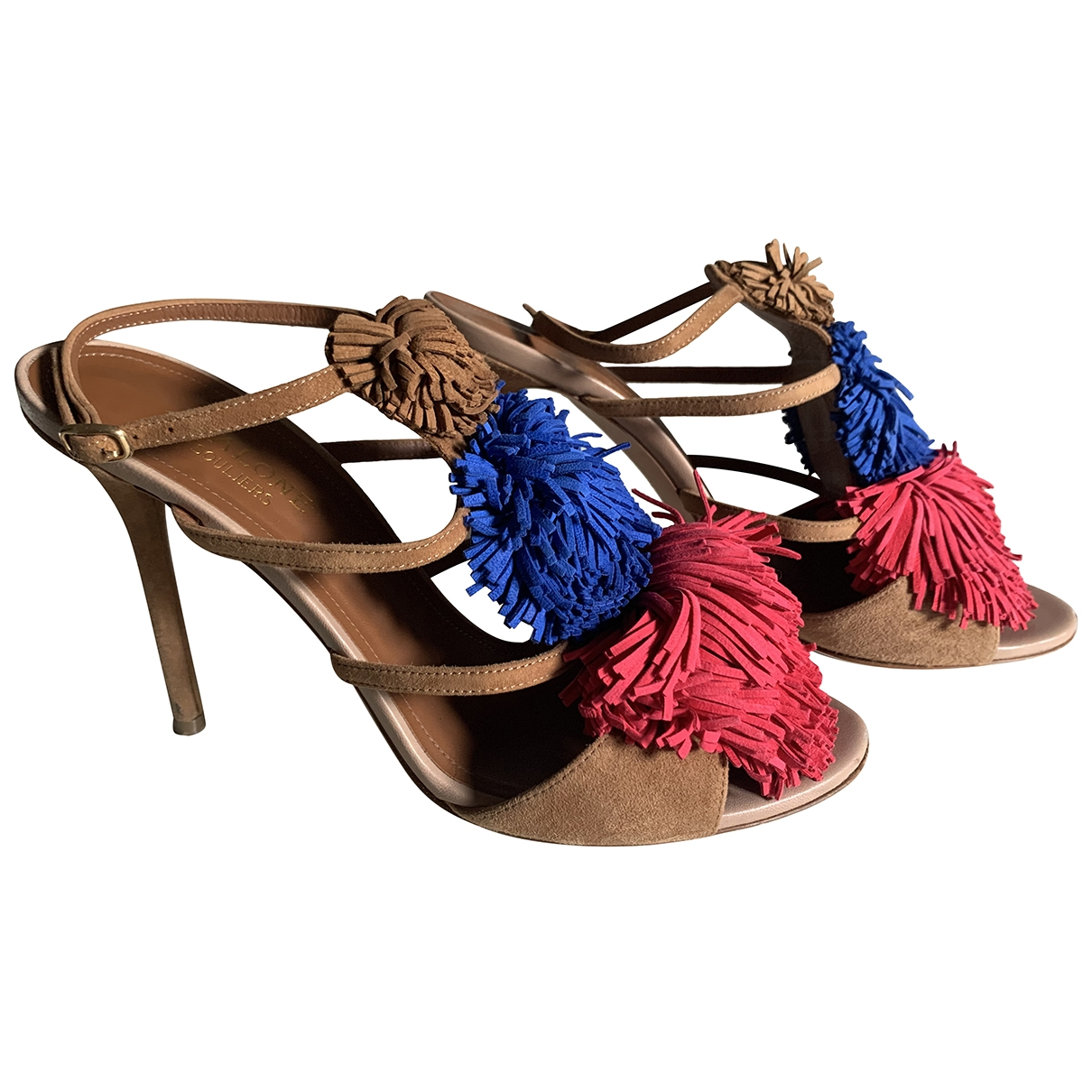 Malone Souliers \N Multicolour Suede Sandals for Women 38 IT