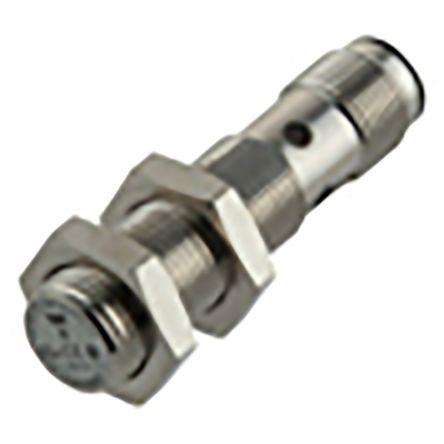 Carlo Gavazzi M12 x 1 Inductive Proximity Sensor - Barrel, PNP/NPN-NO/NC Output, 4 mm Detection, IP67, IO-Link, M12 - 4
