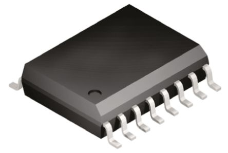 Analog Devices ADUM2400ARIZ , 4-Channel Digital Isolator 1Mbps, 5000 Vrms, 16-Pin SOIC