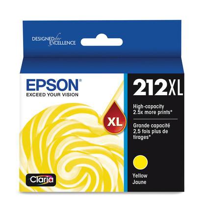 Epson 212XL T212XL420 Original Yellow Ink Cartridge High Yield