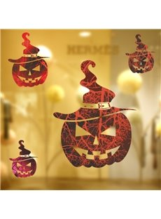 Durable Waterproof Pumpkins Ghosts PVC Halloween Kids Room Wall Stickers