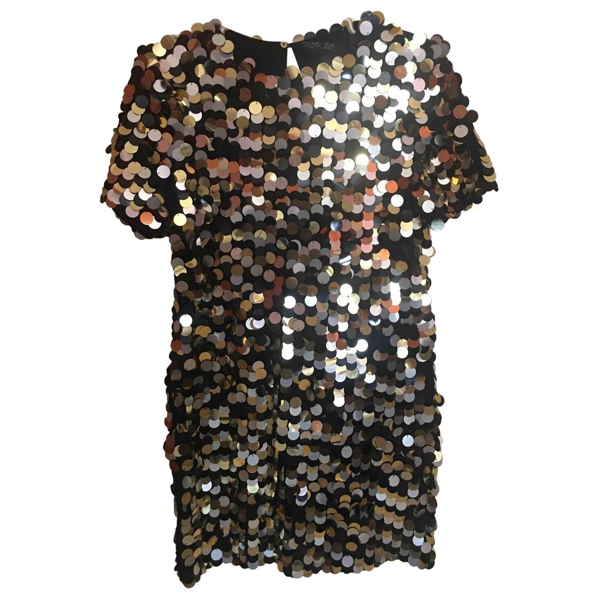 Rachel Zoe \N Black Glitter dress for Women 8 US