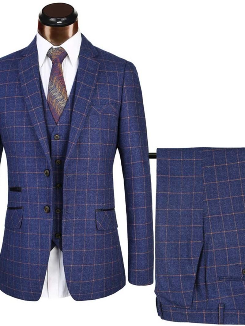 Ericdress Vest England Button Men's Dress Suit