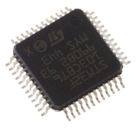 STMicroelectronics STM32L051C8T6, 32bit ARM Cortex M0+ Microcontroller, STM32, 32MHz, 64 kB Flash, 48-Pin LQFP (2)