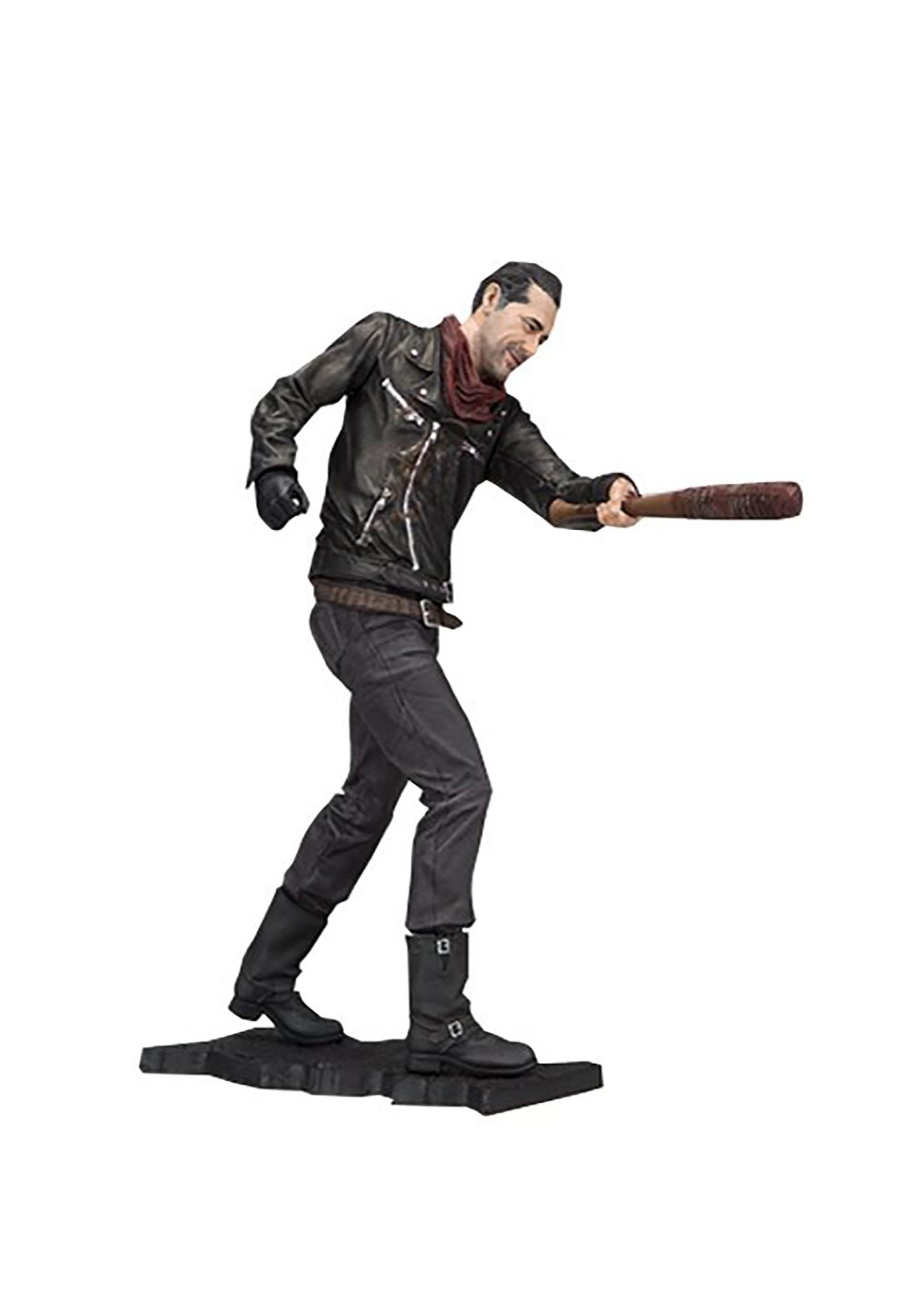 Walking Dead Deluxe Negan Merciless Edition 10-Inch Figure