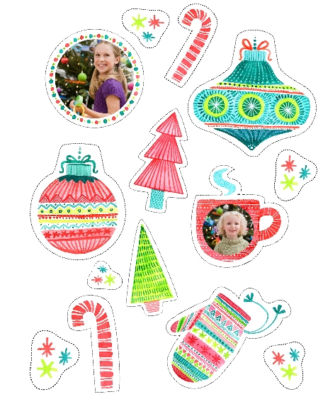 Holiday 16x20 Poster(s), Board, Home Décor -Crafty Christmas