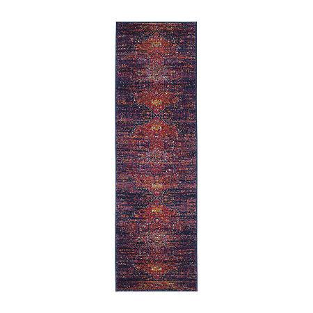 Safavieh Damjan Oriental Rectangular Runner, One Size , Multiple Colors