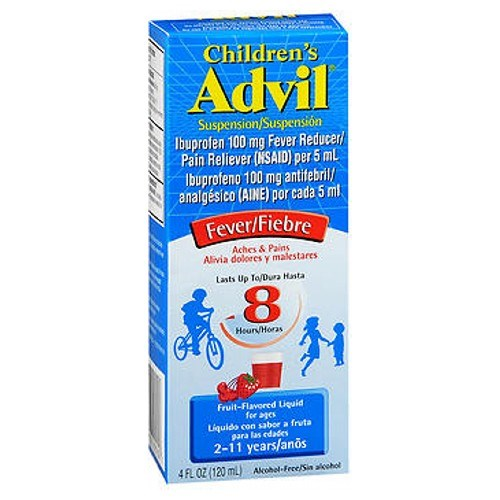 Advil Children Suspension Fruit 4 oz by Advil