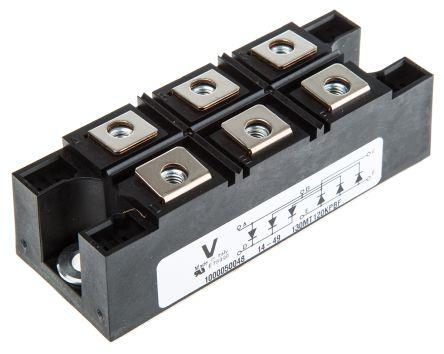 Vishay VS-130MT120KPBF, 3-phase Bridge Rectifier Module, 160A 1200V, 6-Pin INT-A-PAK
