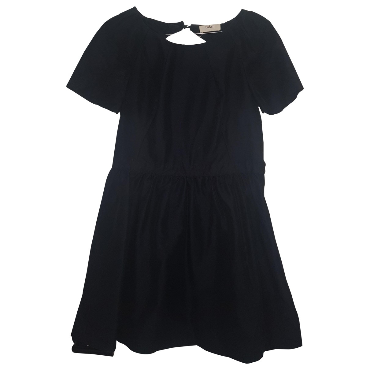 Ba&sh \N Navy Cotton dress for Women 36 FR