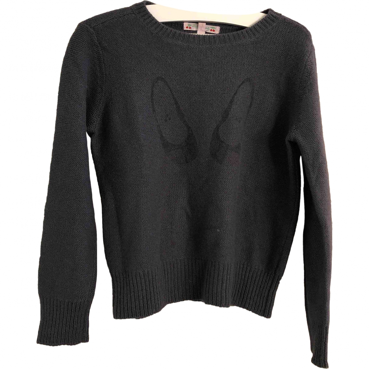 Bonpoint \N Grey Wool Knitwear for Kids 8 years - up to 128cm FR