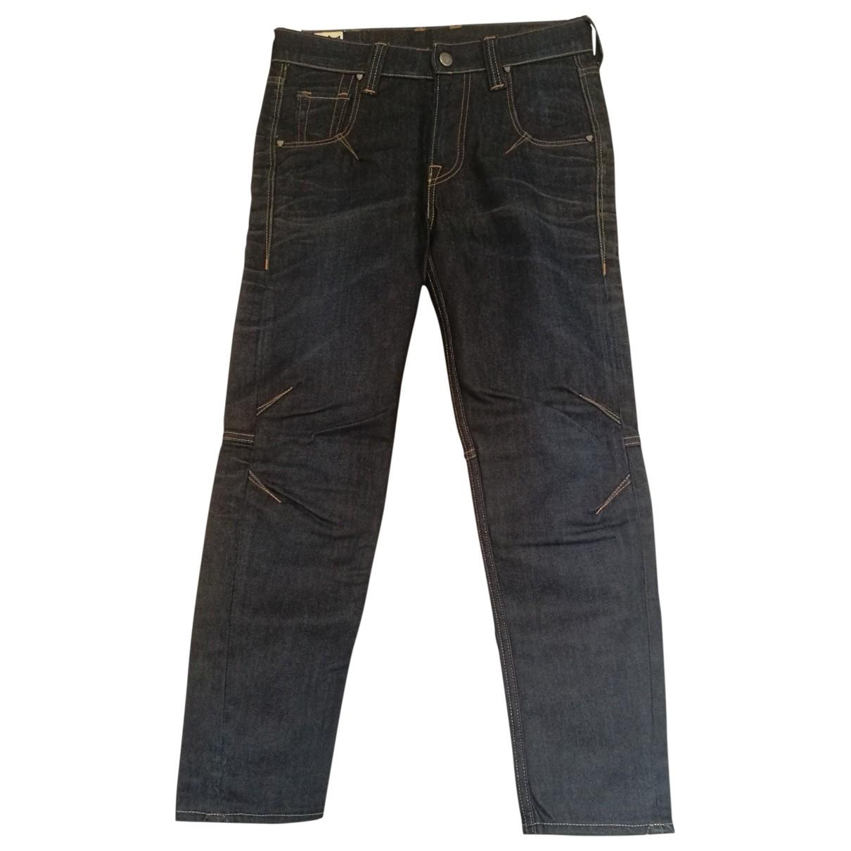 Htc \N Blue Denim - Jeans Jeans for Women 26 US