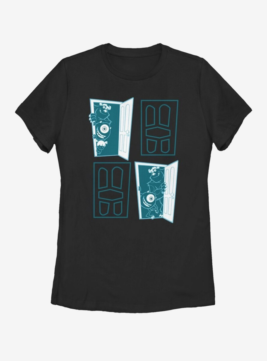 Disney Pixar Monsters Inc. Four Door Womens T-Shirt