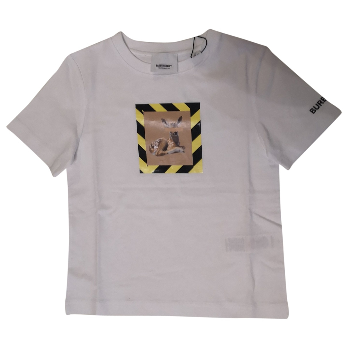 Burberry \N White Cotton  top for Kids 4 years - up to 102cm FR