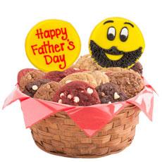 Father's Day Emoji Cookie Basket
