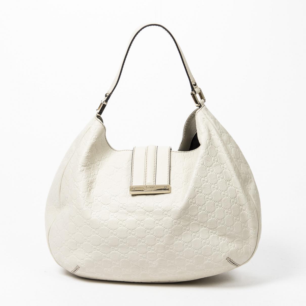 Gucci Hobo White Leather handbag for Women \N
